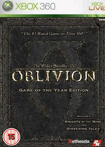 The Elder Scrolls IV: Oblivion - Game of the Year Edition - GAME Exclusive
