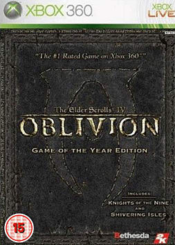 The Elder Scrolls IV: Oblivion - Game of the Year Edition - GAME Exclusive Xbox 360 Cover Art