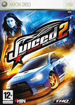 Juiced 2: Hot Import Nights Xbox 360 Cover Art