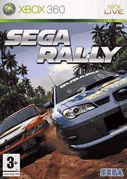 SEGA Rally Xbox 360 Cover Art