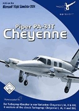 Piper Cheyenne - Add On MSFS 2004 PC Games and Downloads Cover Art