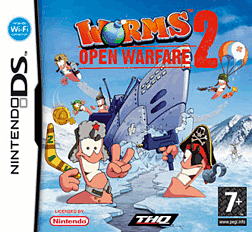 Worms Open Warfare 2 DSi and DS Lite