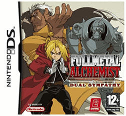 Full Metal Alchemist: Dual Sympathy DSi and DS Lite Cover Art