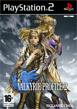 Valkyrie Profile 2: Silmeria PlayStation 2 Cover Art