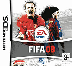 FIFA 08 DSi and DS Lite Cover Art
