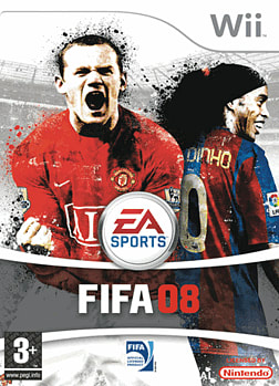 FIFA 08 Wii Cover Art