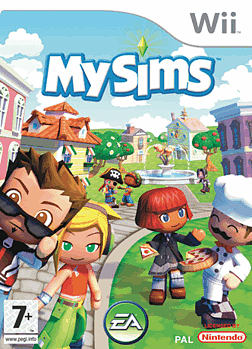 MySims Wii Cover Art