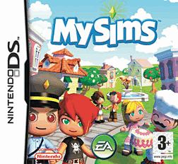 MySims DSi and DS Lite Cover Art