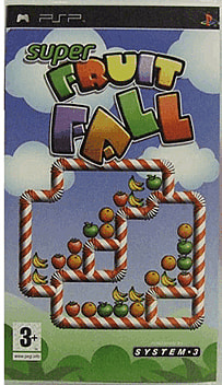 Super Fruitfall PSP Cover Art