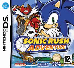 Sonic Rush Adventure DSi and DS Lite