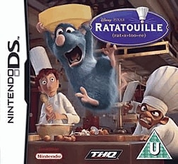 Ratatouille DSi and DS Lite Cover Art