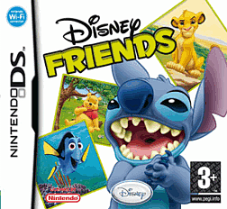 Disney Friends DSi and DS Lite Cover Art