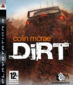 Colin McRae DiRT PlayStation 3 Cover Art