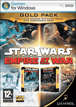 Star Wars: Empire at War Gold Pack PC Games and Downloads Cover Art