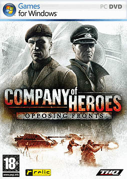Company of Heroes: Opposing Fronts PC Games and Downloads Cover Art