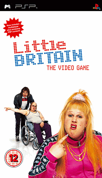 Little Britain: The Video Game PSP Cover Art