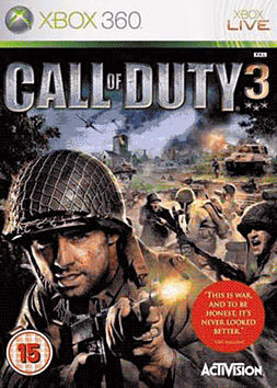 Call of Duty 3: Xbox 360 Classics Xbox 360 Cover Art