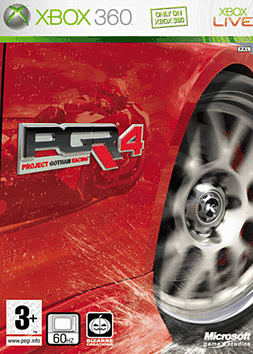 Project Gotham Racing 4 Xbox 360 Cover Art