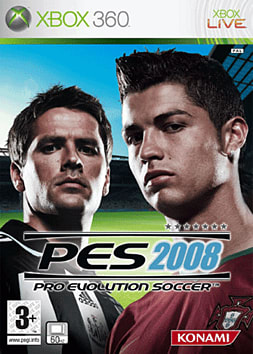 Pro Evolution Soccer 2008 Xbox 360 Cover Art