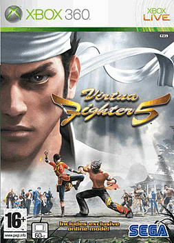 Virtua Fighter 5 Xbox 360 Cover Art