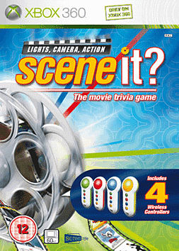 Scene It? Lights, Camera, Action Xbox 360 Cover Art