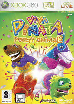 Viva Pinata: Party Animals Xbox 360 Cover Art
