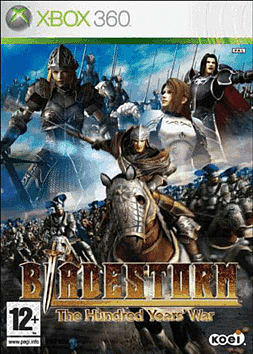 Bladestorm: The Hundred Years War Xbox 360 Cover Art