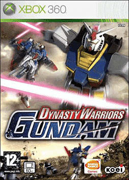 Dynasty Warriors Gundam Xbox 360 Cover Art