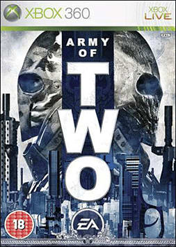 Army of Two Xbox 360 Cover Art