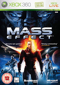 Mass Effect Xbox 360 Cover Art