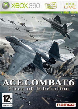 Ace Combat 6: Fires of Liberation Xbox 360 Cover Art