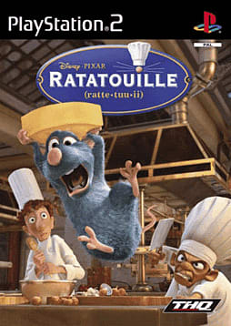 Ratatouille PlayStation 2 Cover Art