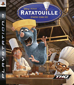 Ratatouille PlayStation 3 Cover Art