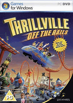 Thrillville: Off the Rails PC Games and Downloads Cover Art