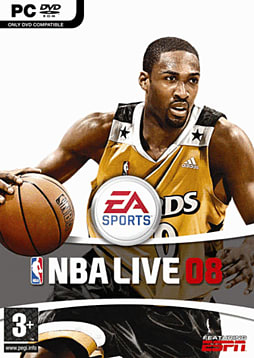 NBA Live 08 PC Games and Downloads Cover Art