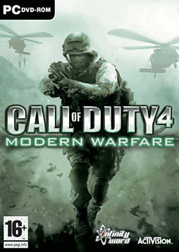 Call of Duty 4: Modern Warfare PC Games and Downloads Cover Art
