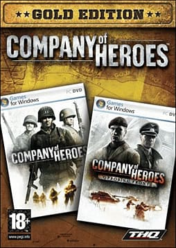 Company of Heroes Gold Pack PC Games and Downloads Cover Art