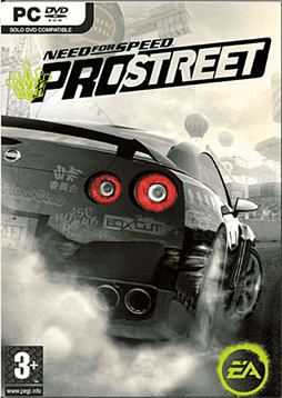 Need For Speed: ProStreet PC Games and Downloads Cover Art