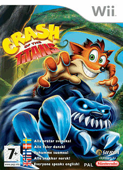 Crash of the Titans Wii Cover Art