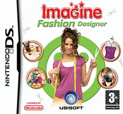 Imagine: Fashion Designer DSi and DS Lite Cover Art