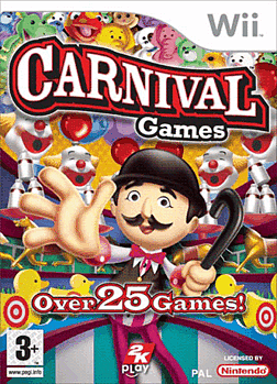 Carnival Funfair Games Wii Cover Art