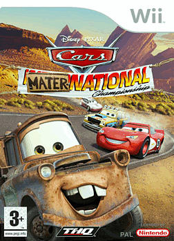 Cars Mater - National Wii Cover Art