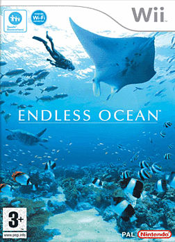 Endless Ocean Wii Cover Art