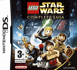 LEGO Star Wars: The Complete Saga DSi and DS Lite Cover Art