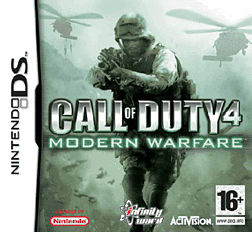 Call of Duty 4: Modern Warfare DSi and DS Lite Cover Art