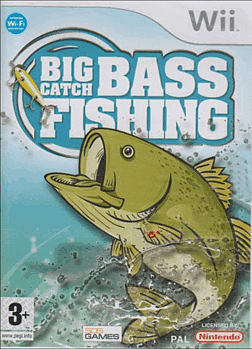 Big Catch: Bass Fishing Wii Cover Art