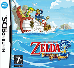 The Legend of Zelda: The Phantom Hourglass DSi and DS Lite Cover Art