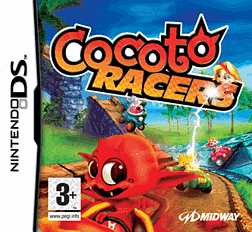 Cocoto Racers DSi and DS Lite Cover Art