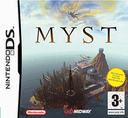 MYST DSi and DS Lite Cover Art