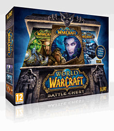 World of Warcraft Battlechest PC-Games Cover Art
